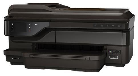 МФУ HP OfficeJet 7610 AiO, A3+, цветной, струйный, черный [cr769a]