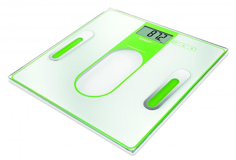 Весы SCARLETT SC212, до 150кг, цвет: зеленый