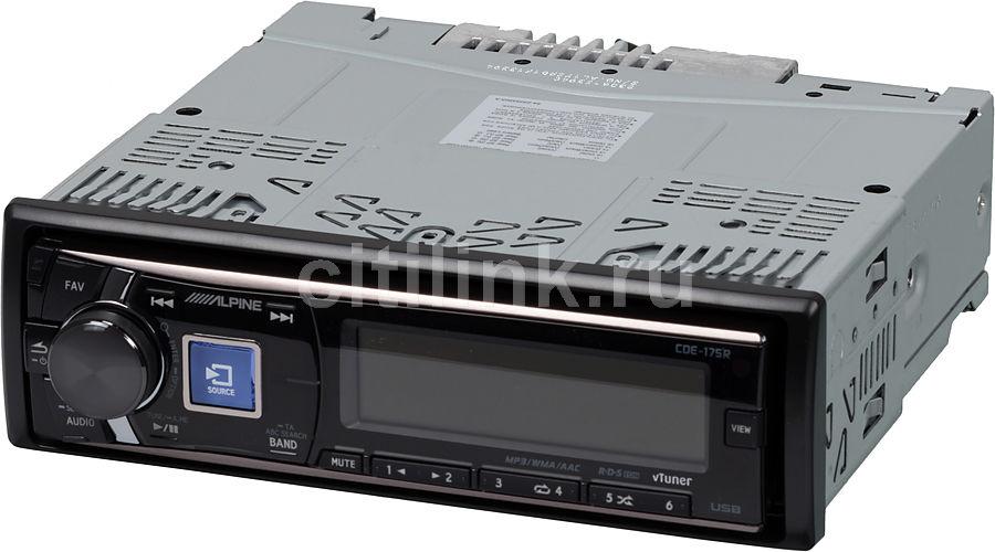 Автомагнитола ALPINE CDE-175R,  USB