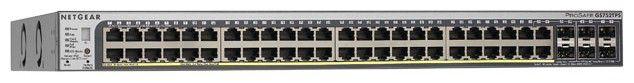 Коммутатор NetGear ProSafe GS752TSB-100EUS управляемый 48x10/100/1000BASE-T