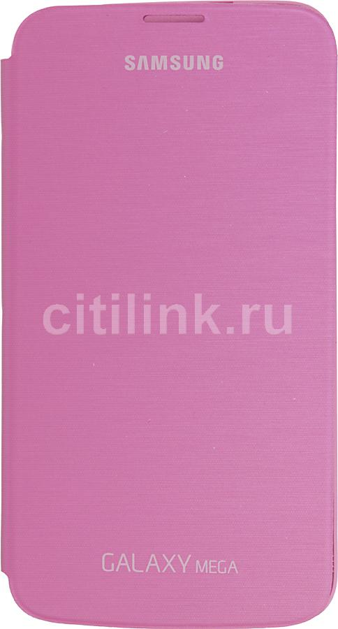 Чехол (флип-кейс) SAMSUNG EF-FI920BPE, для Samsung Galaxy Mega 6.3, розовый [ef-fi920bpegru]