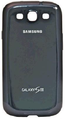 Чехол (клип-кейс) SAMSUNG EFC-1G6BBE, для Samsung Galaxy S III, черный [efc-1g6bbecser]