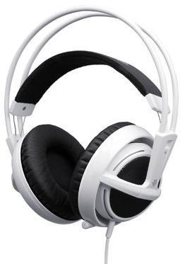 Наушники с микрофоном STEELSERIES Siberia v2 51108,  51108,  мониторы, белый