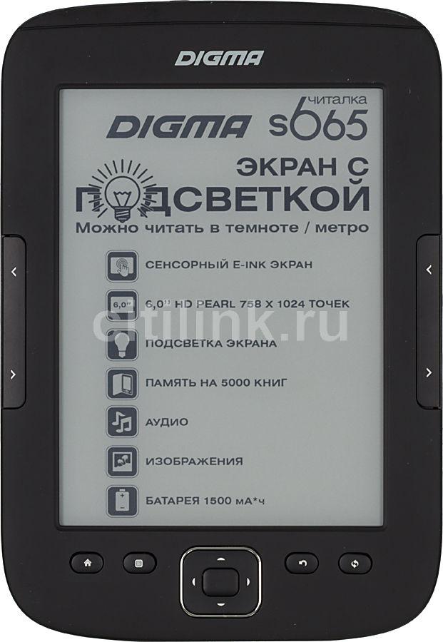 Электронная книга DIGMA S665,  6