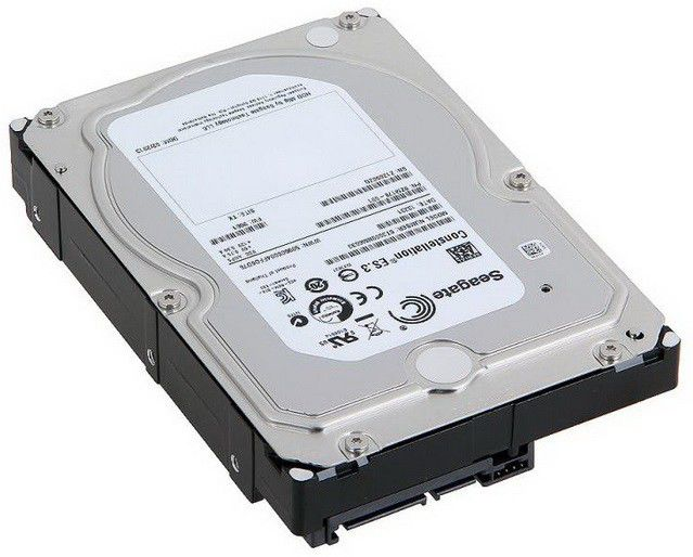 Жесткий диск SEAGATE Constellation ES.3 ST3000NM0033,  3Тб,  HDD,  SATA III,  3.5