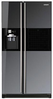 Холодильник SAMSUNG RSH5ZLMR,  двухкамерный,  черный [rsh5zlmr1/bwt]