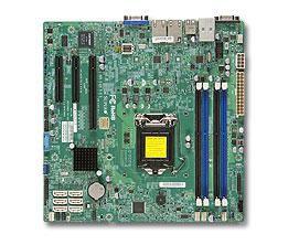 Серверная материнская плата SUPERMICRO MBD-X10SLH-F-B,  bulk