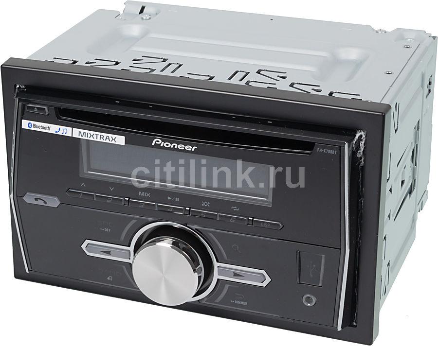 Автомагнитола PIONEER FH-X700BT,  USB