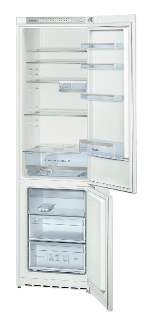 Холодильник BOSCH KGS36VW20R,  двухкамерный,  белый