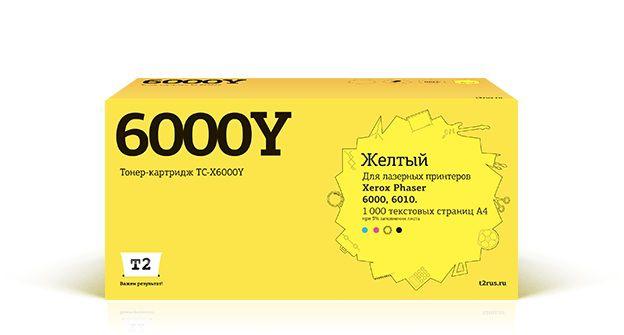 Картридж T2 106R01633 желтый [tc-x6000]