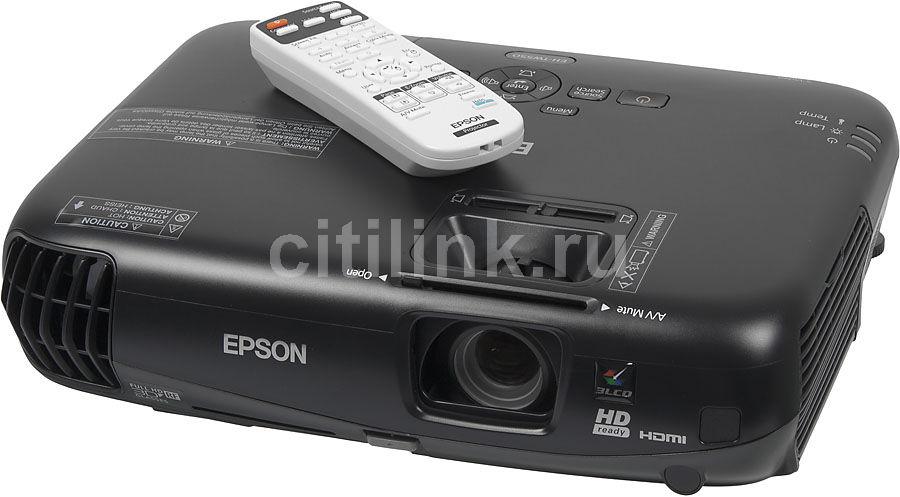 Проектор EPSON EH-TW550 черный [v11h499040]