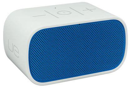 Колонки LOGITECH UE Mobile Boombox,  белый,  голубой [984-000240]