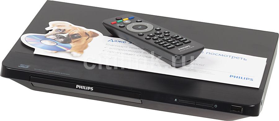 Плеер Blu-ray PHILIPS BDP2180K/51, черный