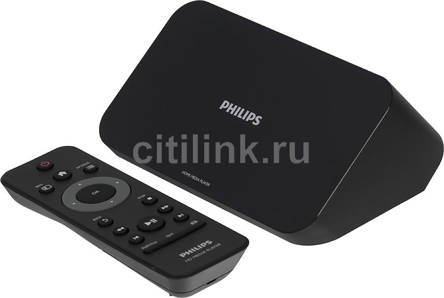 Медиаплеер PHILIPS HMP4000/12,  черный