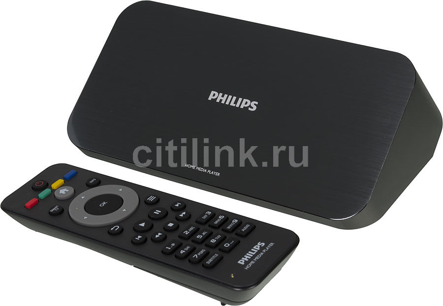 Медиаплеер PHILIPS HMP7100/12,  черный