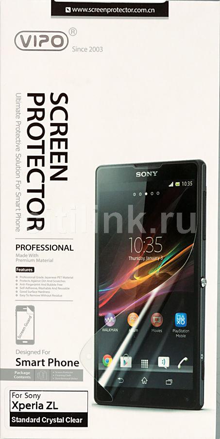 Защитная пленка VIPO для Sony Xperia ZL,  прозрачная, 1 шт