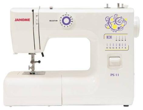 Швейная машина JANOME PS-11 белый