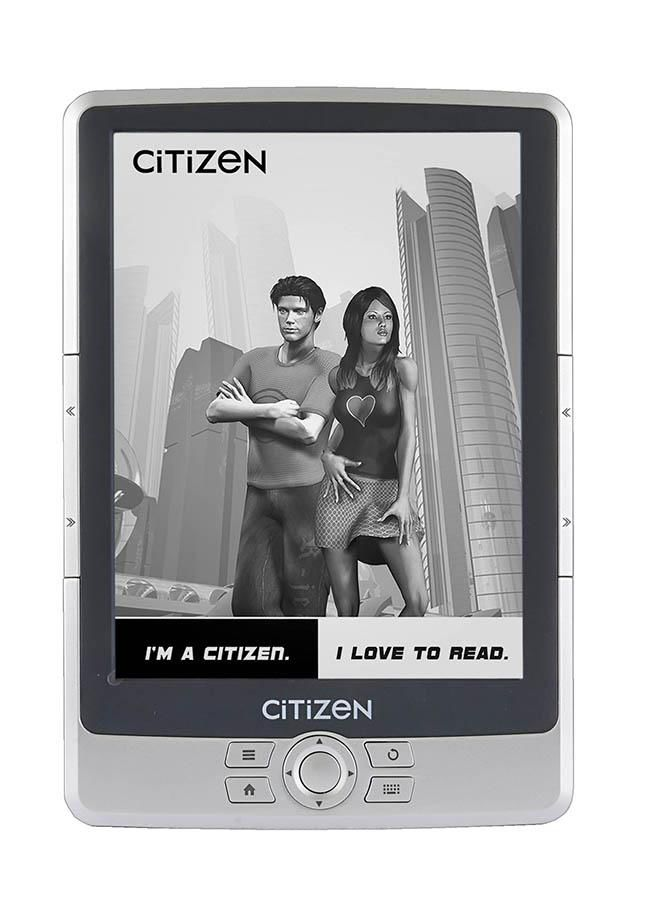 Электронная книга CITIZEN E610D,  6