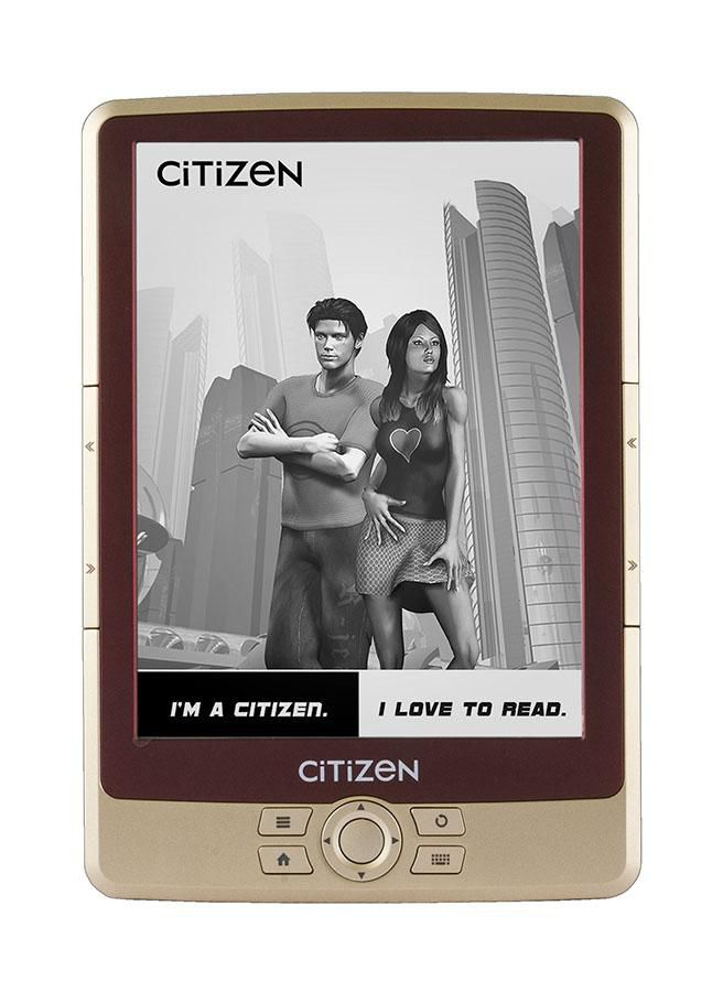 Электронная книга CITIZEN E610B,  6