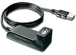 Кабель-удлинитель USB TRENDNET TU2-DU5,  USB A (m) -  USB A (f),  ферритовый фильтр ,  1.5м