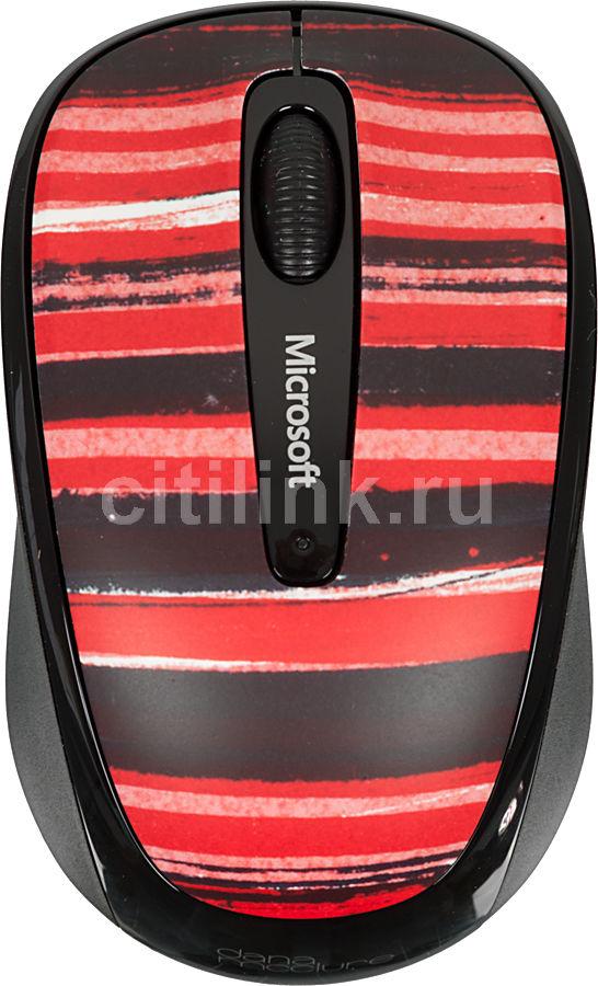 Мышь MICROSOFT 3500 Artist оптическая беспроводная USB, рисунок [gmf-00340]