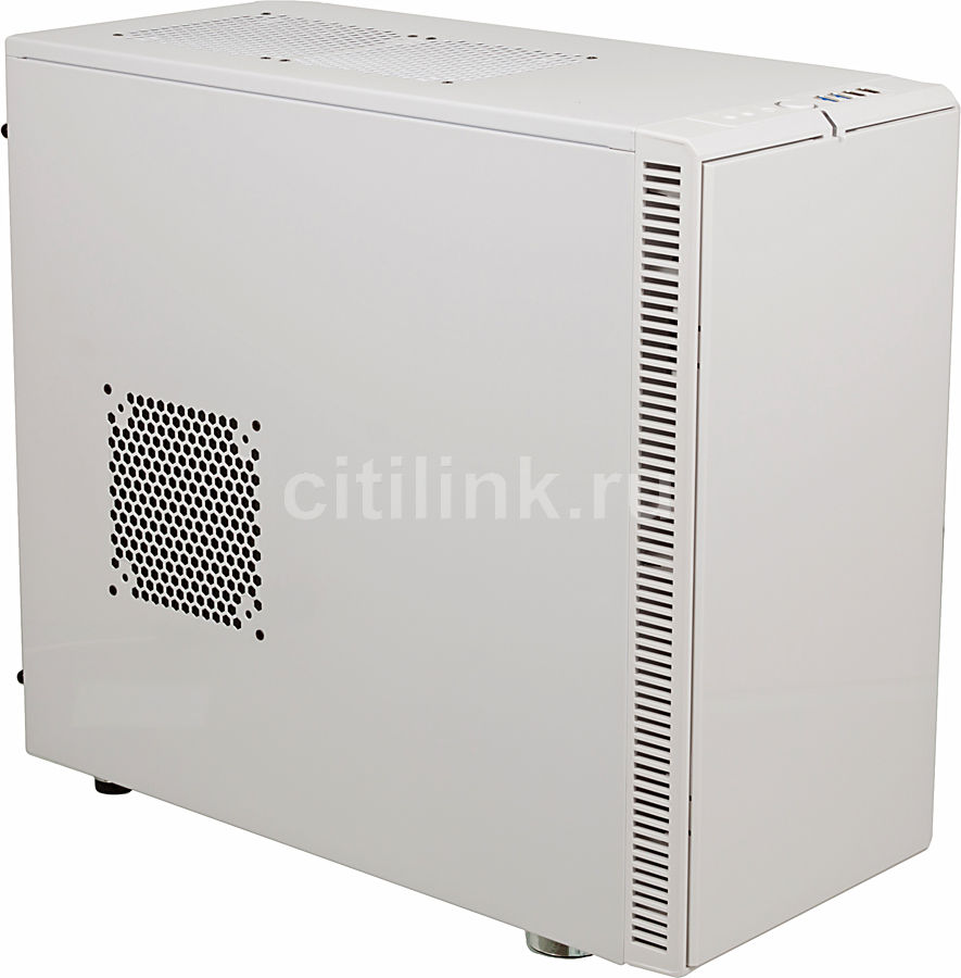 Корпус ATX FRACTAL DESIGN Define R4 Arctic, Midi-Tower, без БП,  белый
