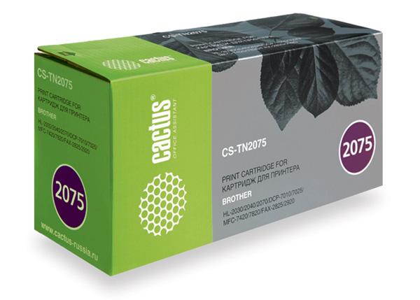 Картридж CACTUS CS-TN2075 черный