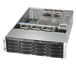 Корпус SuperMicro CSE-836BE16-R920B 3UКорпуса для серверов<br><br>
