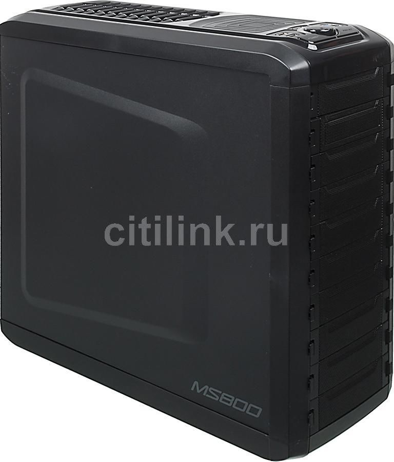 Корпус ATX ZALMAN MS800, Midi-Tower, без БП,  черный