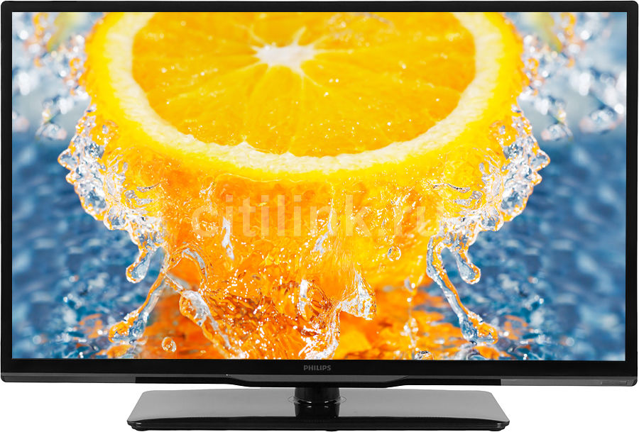 "LED телевизор PHILIPS 39PFL3208T/60  ""R"", 39"", FULL HD (1080p),  черный"