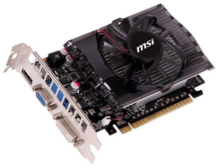 Видеокарта MSI GeForce GT 630,  2Гб, DDR3, oem [n630-2gd3 bulk]