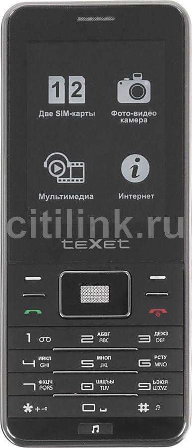 Мобильный телефон TEXET TM-D222  черный