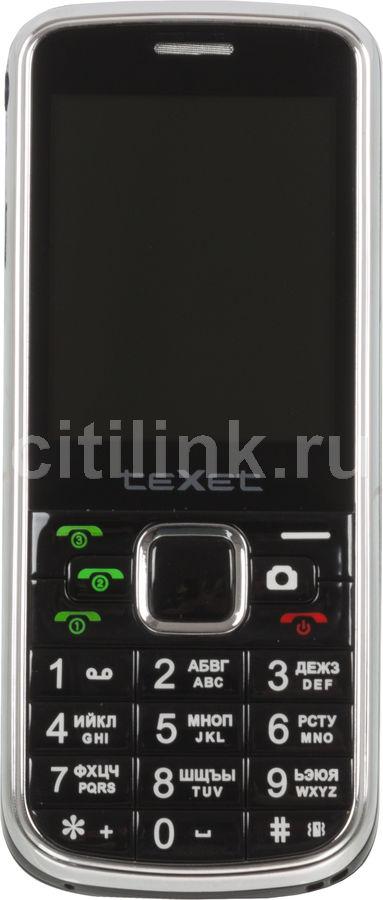 Мобильный телефон TEXET TM-333  черный