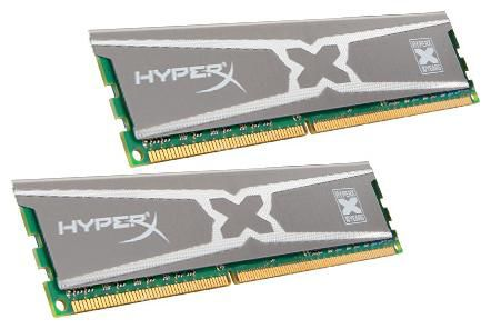 Модуль памяти KINGSTON HyperX KHX18C9X3K2/8X DDR3 -  2x 4Гб 1866, DIMM,  Ret
