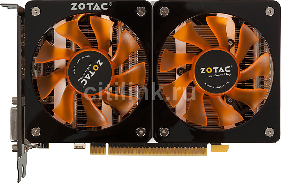 Видеокарта ZOTAC GeForce GTX 650Ti, ZT-61104-10M,  1Гб, GDDR5, Ret