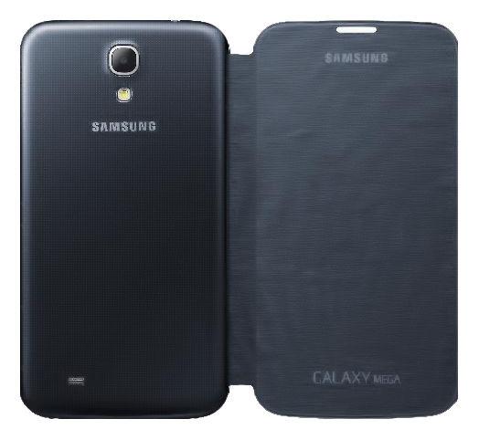 Чехол (флип-кейс) SAMSUNG EF-FI915BBEGRU, для Samsung Galaxy Mega 5.8, черный
