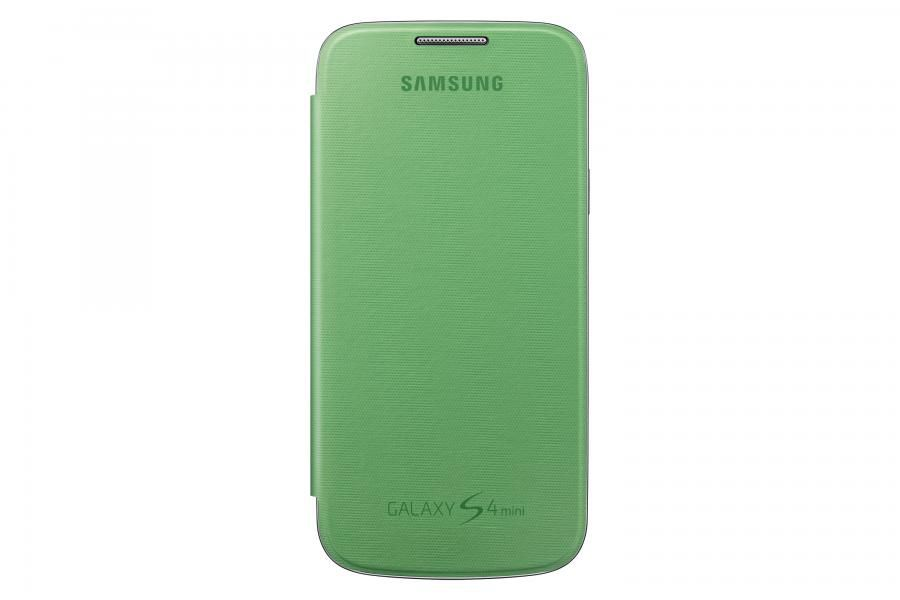 Чехол (флип-кейс) SAMSUNG EF-FI919BGEGRU, для Samsung Galaxy S4 mini, светло-зеленый