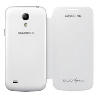 Чехол (флип-кейс) SAMSUNG S View, EF-CI919BWEGRU, для Samsung Galaxy S4 mini, белый