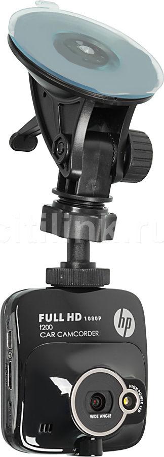 Видеорегистратор HP F200 черный