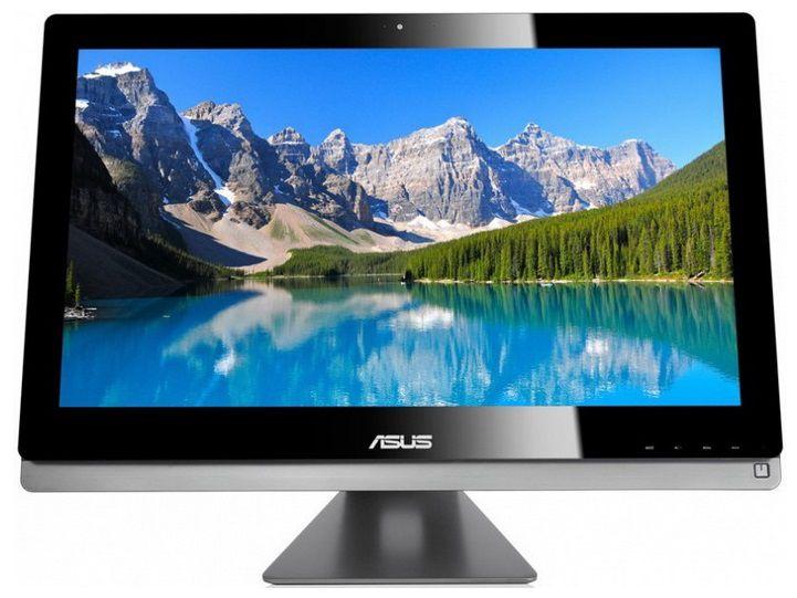 Моноблок ASUS ET2702IGKH, Intel Core i5 4430, 6Гб, 2Тб, AMD Radeon HD 8890A - 2048 Мб, Blu-Ray, Windows 8, черный и серебристый [90pt00j1000060q]
