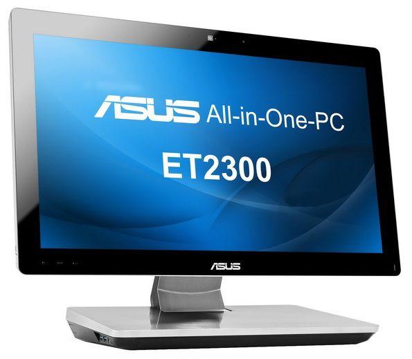 Моноблок ASUS ET2300INTI, Intel Core i3 3220T, 4Гб, 1000Гб, nVIDIA GeForce GT630M - 2048 Мб, DVD-RW, Windows 8, черный и серебристый [90pt00h1002290q]