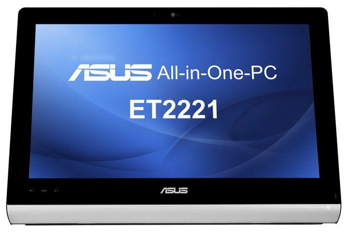 Моноблок ASUS ET2221INKH, Intel Core i5 4430S, 6Гб, 1000Гб, nVIDIA GeForce GT720M - 1024 Мб, DVD-RW, Windows 8, черный и серебристый [90pt00r1-m00430]