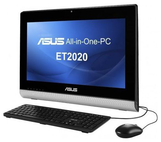 Моноблок ASUS ET2020INKI, Intel Core i3 3220T, 4Гб, 1000Гб, nVIDIA GeForce GT720M - 1024 Мб, DVD-RW, Windows 8, черный [90pt00m1-m00540]