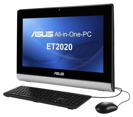 Моноблок ASUS ET2020AUKK, AMD A4 5000, 2Гб, 500Гб, AMD Radeon HD 8330, DVD-RW, noOS, черный [90pt00n1-m00200]