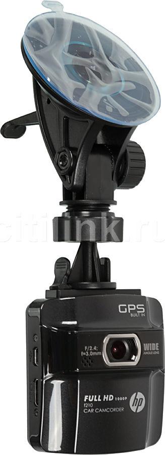 Видеорегистратор HP F210 черный