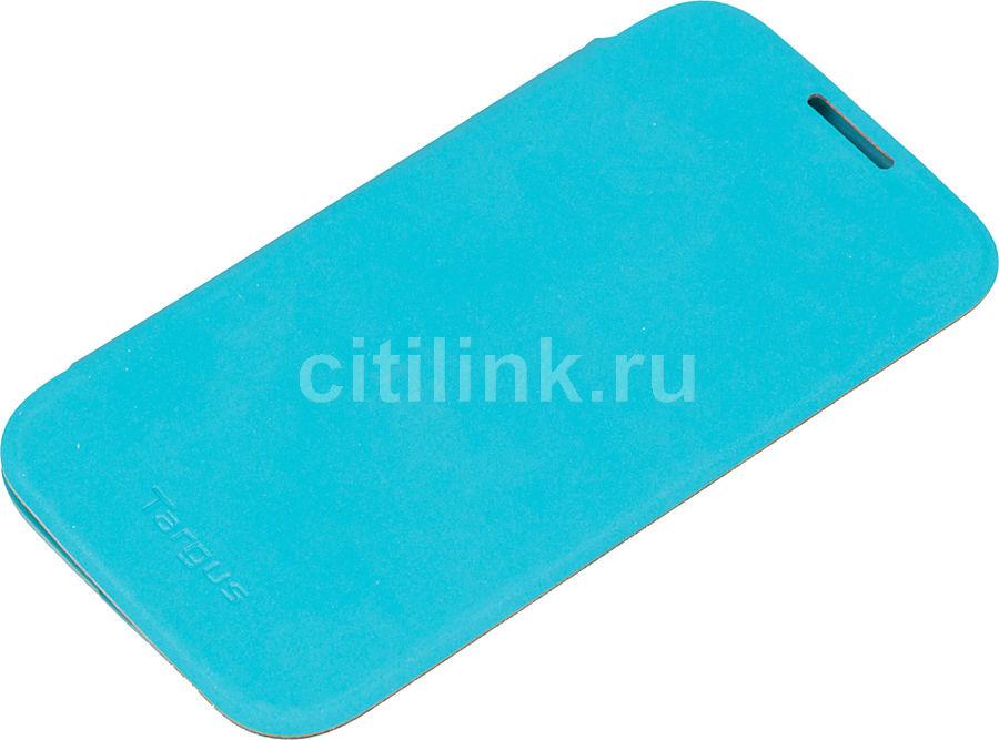Чехол (флип-кейс) TARGUS TFD03602EU, для Samsung Galaxy S4, голубой