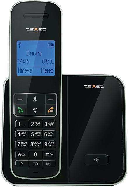 Радиотелефон TEXET TX-D6305А,  черный