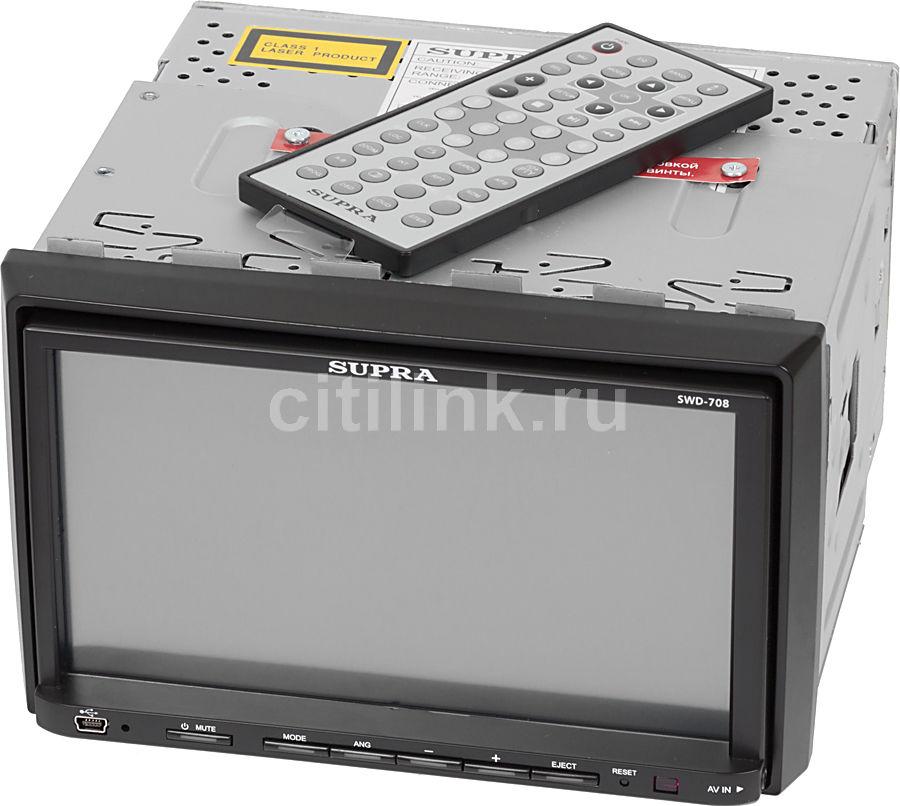 Автомагнитола SUPRA SWD-708,  USB,  SD/MMC