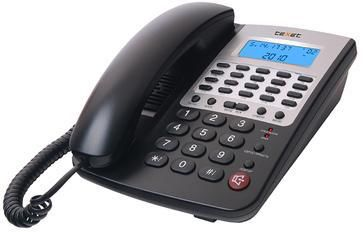 Проводной телефон TEXET ТХ-249, черный