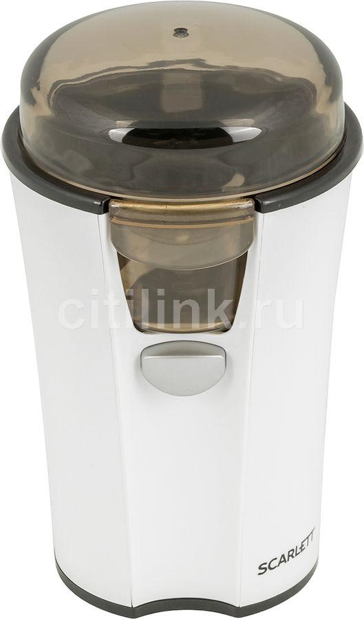 Кофемолка SCARLETT SC-010,  белый [sc - 010]